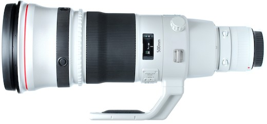 Canon 500mm f/4L EF IS II USM