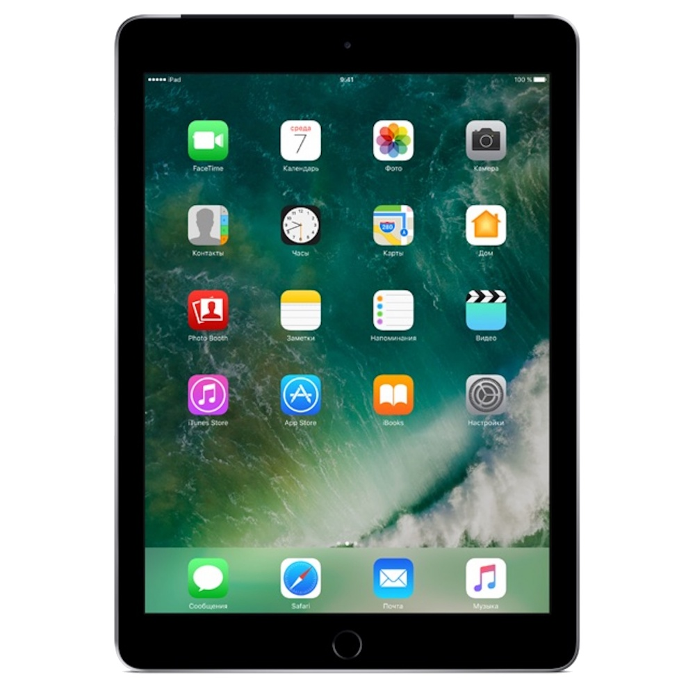 Планшетный компьютер Apple iPad 32Gb Wi-Fi Space Grey MP2F2RU/A