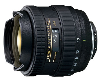 Tokina 10-17mm f/3.5-4.5 AT-X 107 AF DX Fish-Eye для Nikon
