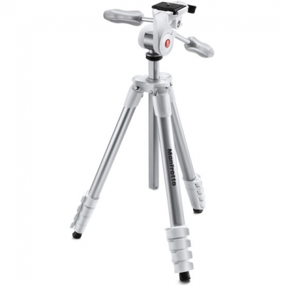 Штатив Manfrotto COMPACT ADVANCED WHITE (белый)