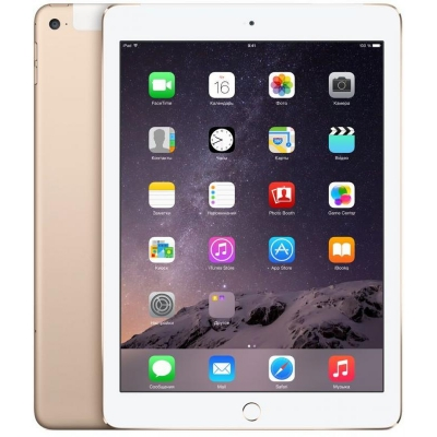 Планшет Apple iPad Air 2 64Gb Wi-Fi + Cellular Gold (MH172RU/A)