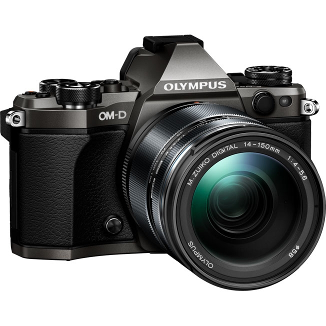 Цифровой фотоаппарат Olympus OM-D E-M5 Mark II Kit Limited Edition (EZ-M1415 II) titanium/black