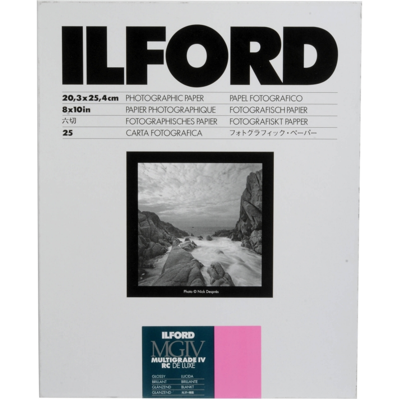 Фотобумага ILFORD Multigrade IV RC Delux 50.8 x 61 (10 листов)