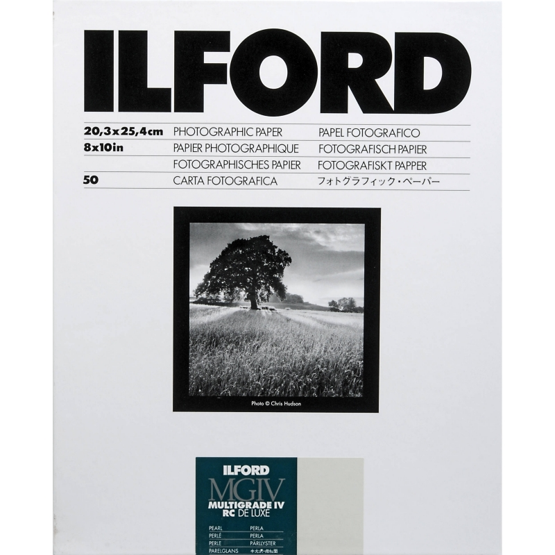 Фотобумага ILFORD Multigrade IV RC Delux Pearl 30.5 x 40.6 (50 листов)