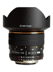 Samyang 14mm f/2.8 AE IF ED UMC Aspherical