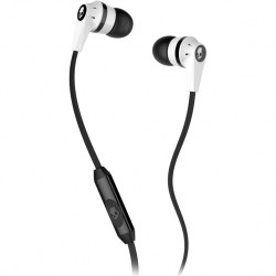 Наушники SkullCandy INK'D w/Mic White/Black