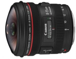 Canon 8-15mm f/4L EF Fisheye USM