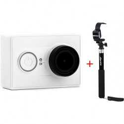 Xiaomi Yi Action Camera Basic Edition + монопод Kit-SP2Q,