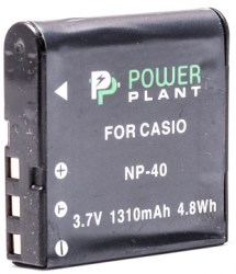 PowerPlant Casio NP-40