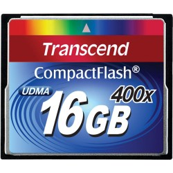 Transcend Compact Flash 16Gb 400X