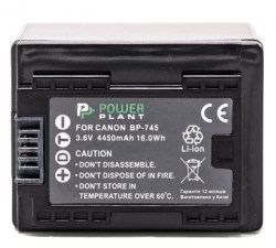 Аккумулятор PowerPlant Canon BP-745 Chip