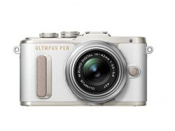 Цифровой фотоаппарат Olympus Pen E-PL8 Kit (E-PL8 Body black + EZ-M1442EZ black)