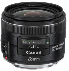 Canon 28mm f/2.8 EF IS USM