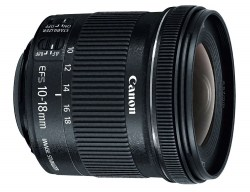 Canon 10-18mm f/4.5-5.6 EF-S IS STM