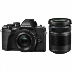 Цифровой фотоаппарат Olympus OM-D E-M10 Mark III Double Zoom Kit (EZ-M1442 EZ + EZ-M4015R) black
