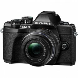 Цифровой фотоаппарат Olympus OM-D E-M10 Mark III Kit 14-42 II R black