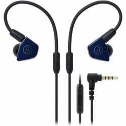 Наушники с микрофоном Audio-Technica ATH-LS50IS, синий
