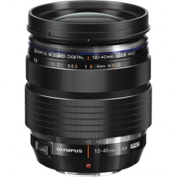 Объектив Olympus M.Zuiko Digital ED 12-40mm f/2.8 Pro черный