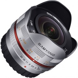 Объектив Samyang MF 7.5mm f/3.5 AS IF UMC Fish-eye micro 4/3 Silver