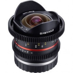 Объектив Samyang MF 8mm T3.1 Fish-eye CINE Sony E-mount