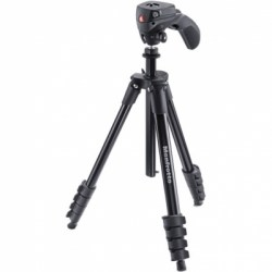Штатив Manfrotto COMPACT ACTION BLACK (черный)