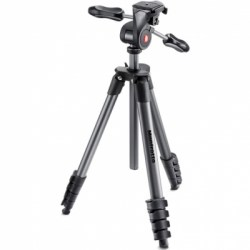 Штатив Manfrotto COMPACT ADVANCED BLACK (черный)