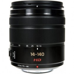 Объектив Panasonic Lumix G Vario 14-140mm f3.5-5.6 ASPH./Power O.I.S. (H-FS14140) черный