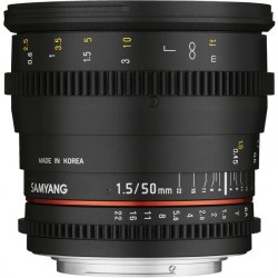 Объектив Samyang MF 50mm T1.5 AS UMC VDSLR Sony E (NEX)