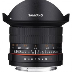 Объектив Samyang MF 12mm f/2.8 ED AS NCS Fish-eye Sony E