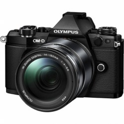 Цифровой фотоаппарат Olympus OM-D E-M5 Mark II Kit (EZ-M1415 II) black/black