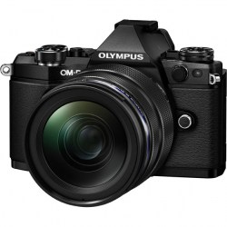 Цифровой фотоаппарат Olympus OM-D E-M5 Mark II Kit (EZ-M1240) black/black