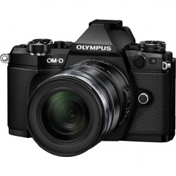 Цифровой фотоаппарат Olympus OM-D E-M5 Mark II Kit (EZ-M1250) black/black