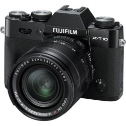 Цифровой фотоаппарат FujiFilm X-T10 Kit XF18-55mm F2.8-4 R LM OIS Black