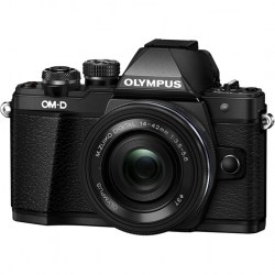 Цифровой фотоаппарат Olympus OM-D E-M10 II 14-42mm Pancake Zoom Kit Black