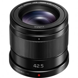 Объектив Panasonic Lumix H-HS043E-K 42.5mm f/1.7 G Aspherical Power O.I.S. черный