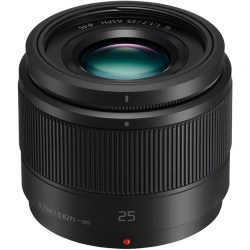 Объектив Panasonic Lumix H-H025AE-K 25mm f/1.7 G Aspherical Black