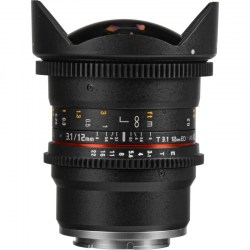 Объектив Samyang MF 12mm T3.1 VDSLR ED AS NCS Fish-eye Sony E