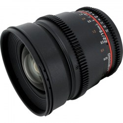 Объектив Samyang MF 16mm T2.2 ED AS UMC CS VDSLR Sony E (NEX)