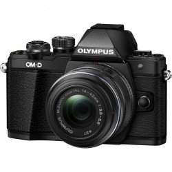 Цифровой фотоаппарат Olympus OM-D E-M10 Mark II Kit EZ-M1442 II R Black