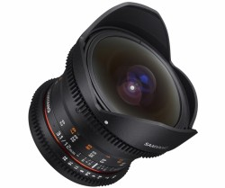 Объектив Samyang MF 12mm T3.1 VDSLR ED AS NCS Fish-eye Micro 4/3