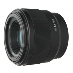 Объектив Sony Full Frame SEL-50F18F E-Mount FE 50mm F1.8