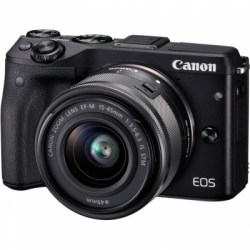 Цифровой фотоаппарат Canon EOS M3 Kit 15-45 IS STM