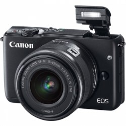Цифровой фотоаппарат Canon EOS M10 Kit 15-45 IS STM Black