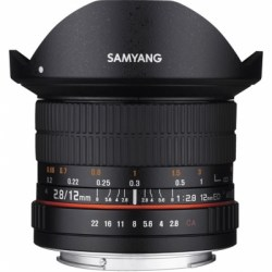 Объектив Samyang MF 12mm f/2.8 ED AS NCS Fish-eye Micro 4/3