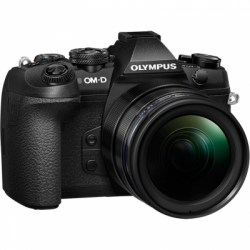 Цифровой фотоаппарат Olympus OM-D E-M1 Mark II Kit (EZ-M1240) black