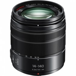 Объектив Panasonic Lumix G Vario 14-140mm f3.5-5.6 ASPH./Power O.I.S. (H-FS14140EKA) черный