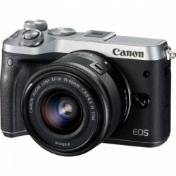 Цифровой фотоаппарат Canon EOS M6 kit 15-45 IS STM Silver