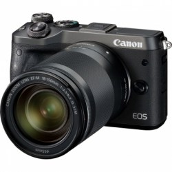 Цифровой фотоаппарат Canon EOS M6 kit 18-150 IS STM Black