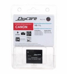 Аккумулятор для фотоаппарата DigiCare PLC-11L / NB-11L / PowerShot A2300, A2400 IS, A3400 IS, A4000 IS, IXUS 125, 240HS