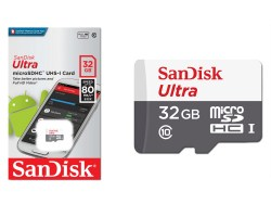 Sandisk micro SDHC 32Gb Ultra Class 10 UHS-I + ADP (48/10 MB/s)